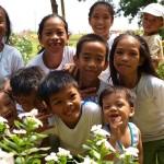アジアの子供達